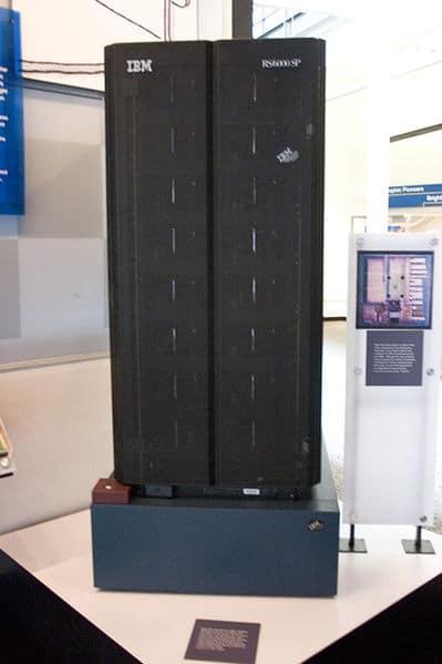 Photo du superordinateur Deep Blue.