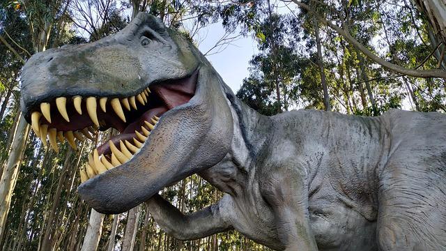 Tyrannosaure de Jurassik Park pour le Gorafi.